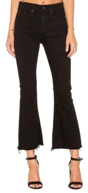 Item - Black Coral 10 Inch Crop Flare Leg Jeans Size 27 (4, S)
