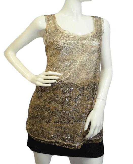 Item - Gold Sequin Small Sku 000025 Maternity Top Size 6 (S)