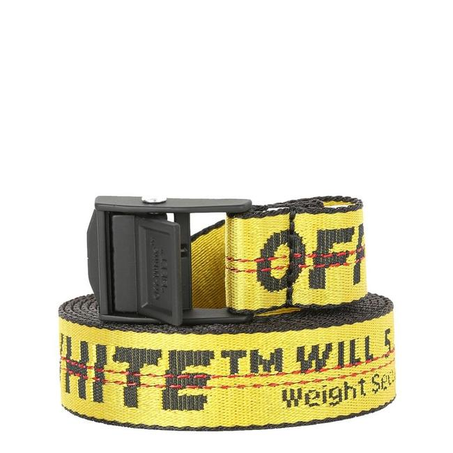 Item - Yellow New Off-white Black Nylon Mini 2.5 Industrial Buckle Belt