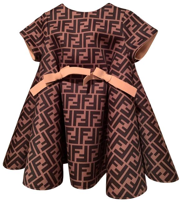 Item - Black and Brown Short Cocktail Dress Size 00 (XXS)
