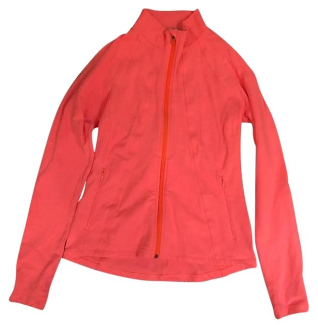 Item - Neon Coral Hope Activewear Outerwear Size 4 (S)