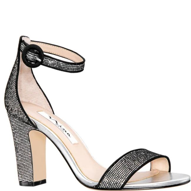 Item - Silver and Black Sianna Formal Shoes Size US 11 Regular (M, B)
