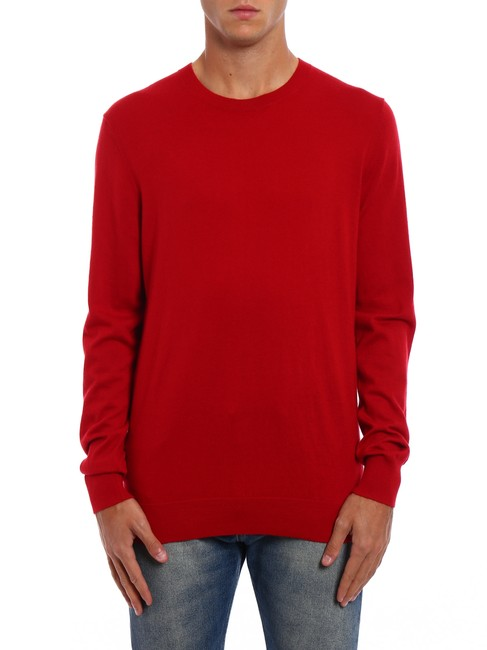 Item - Kenneth Cashmere Parade Red Sweater