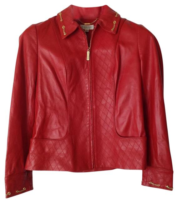 Item - Red Sport Jacket Size Petite 6 (S)