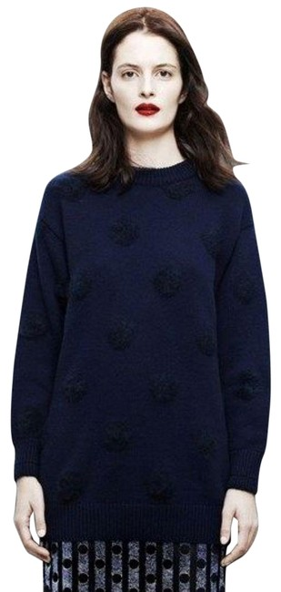 Item - 2014 Ready To Wear Runway Cashmere Wool Blue Sweater