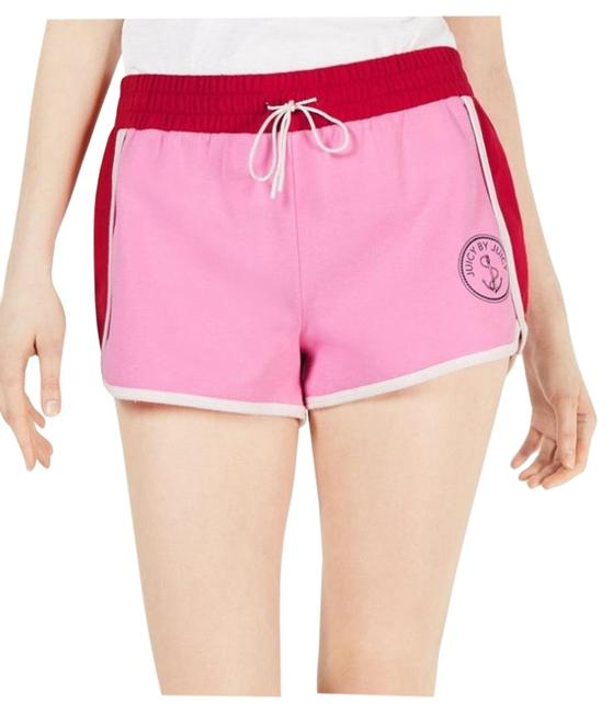 Juicy Couture Pink Colorblocked Terry Cloth Shorts Size 12 (L, 32, 33) Juicy Couture Pink Colorblocked Terry Cloth Shorts Size 12 (L, 32, 33) Image 1