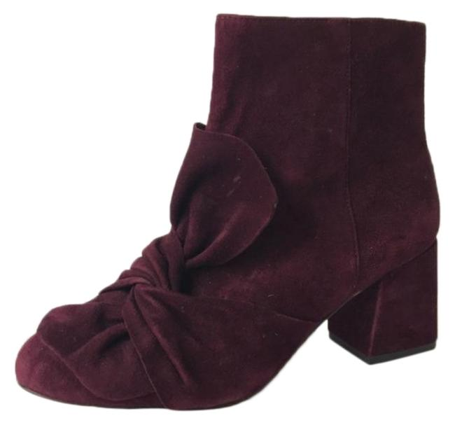Item - Burgundy Suede Leather Boots/Booties Size US 7 Regular (M, B)
