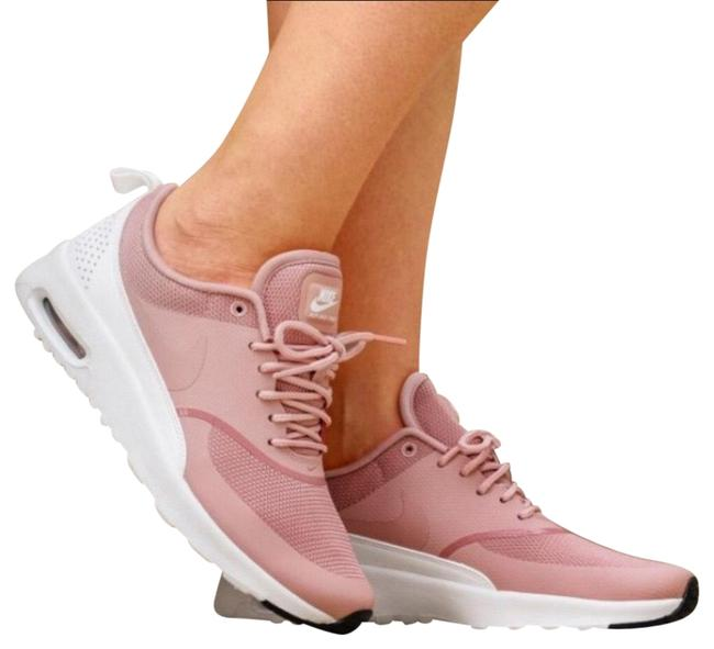 Item - Pink Women's Air Max Thea Rust Equipped with Comfortable Cushioning and Is Designed with A Sleek For Sneakers Size US 8 Narrow (Aa, N)