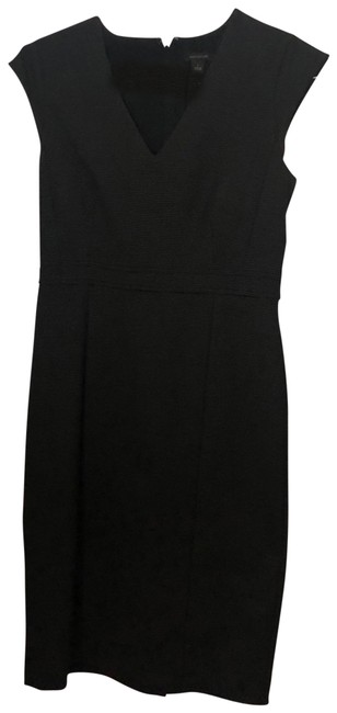 Ann Taylor Black Unknown Mid-length Work/Office Dress Size 0 (XS) Ann Taylor Black Unknown Mid-length Work/Office Dress Size 0 (XS) Image 1
