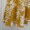 Old Navy Yellow and White Long Casual Maxi Dress Size 4 (S) Old Navy Yellow and White Long Casual Maxi Dress Size 4 (S) Image 6