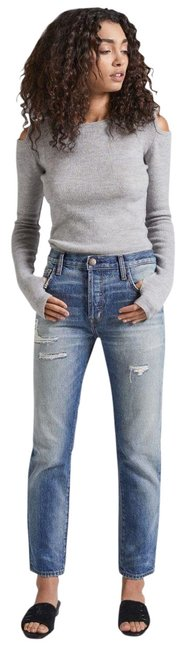 Item - Distressed Slouchy Boyfriend Cut Jeans Size 0 (XS, 25)
