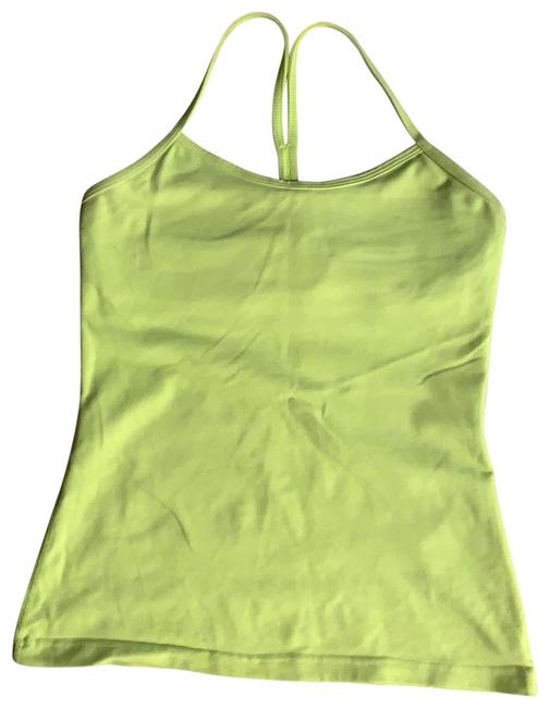 Item - Yellow Activewear Top Size 6 (S)