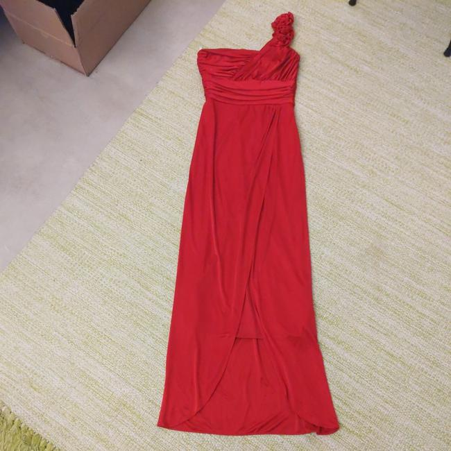 Item - Red 34567 Long Formal Dress Size 6 (S)