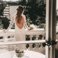BHLDN Ivory Nude Lace Daughters Of Simone Danni Gown Feminine Wedding Dress Size 8 (M) BHLDN Ivory Nude Lace Daughters Of Simone Danni Gown Feminine Wedding Dress Size 8 (M) Image 4