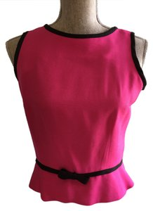 Other Sleeveless Tops Peplum Tops Size Small Tops Top Fuscia