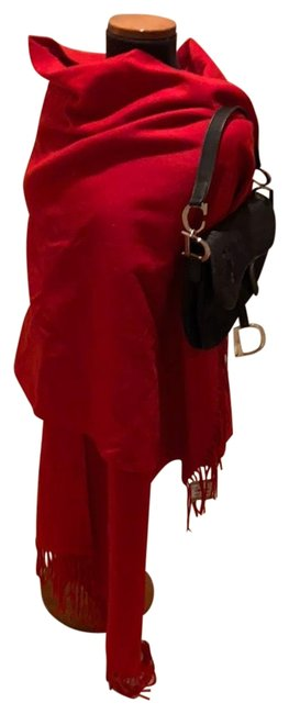 Item - Red Cashmere Scarf/Wrap