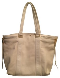 Linea Pelle Tote in Cream