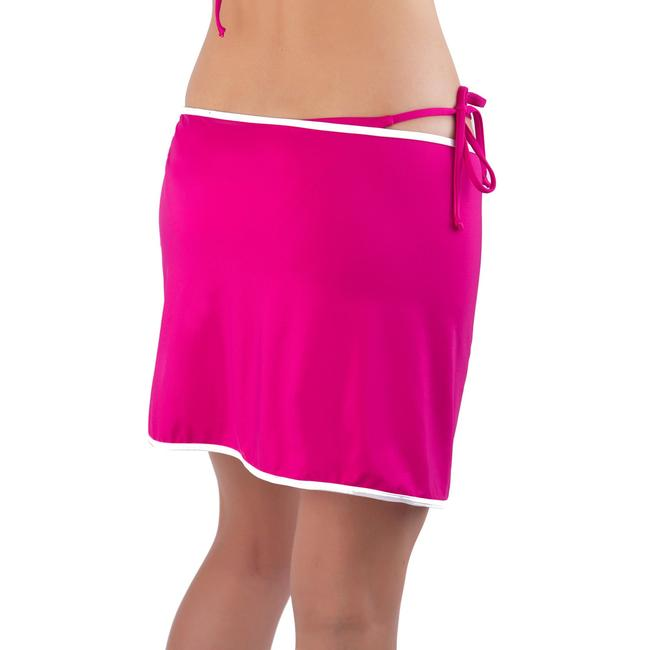 Item - Pink New Women Beach Self-tie Pareo Skirt Cover-up/Sarong Size OS (one size)
