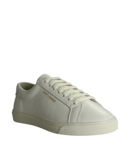 Saint Laurent Sneakers Leather White Formal