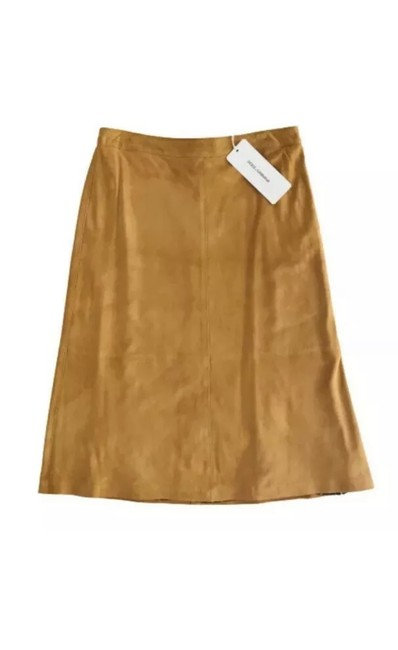 Preload https://img-static.tradesy.com/item/28013151/dolce-and-gabbana-fawn-sueded-leather-skirt-size-os-one-size-0-0-650-650.jpg