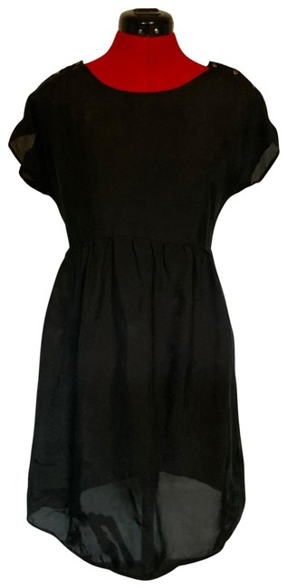 Séraphine Charcoal Cupro Maternity Dress Size 2 (XS) Séraphine Charcoal Cupro Maternity Dress Size 2 (XS) Image 1