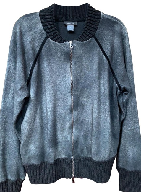 Item - Black Cotton Bomber By Soft and Unique Coloring. Jacket Size 6 (S)