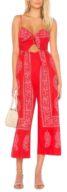 Item - Red Feel The Sun Size 6 New Romper/Jumpsuit