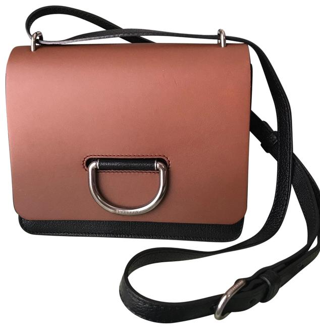 Burberry Crossbody Two-tone Small D-ring Leather Shoulder Bag Burberry Crossbody Two-tone Small D-ring Leather Shoulder Bag Image 1