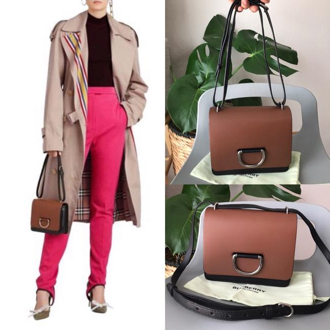 Burberry Crossbody Two-tone Small D-ring Leather Shoulder Bag Burberry Crossbody Two-tone Small D-ring Leather Shoulder Bag Image 12