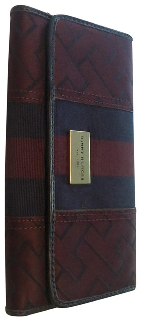 Item - Navy and Burgundy Wallet