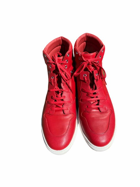 Item - Red 48; This Is Not A 45] High Top Sneakers Size EU 45 (Approx. US 15) Regular (M, B)
