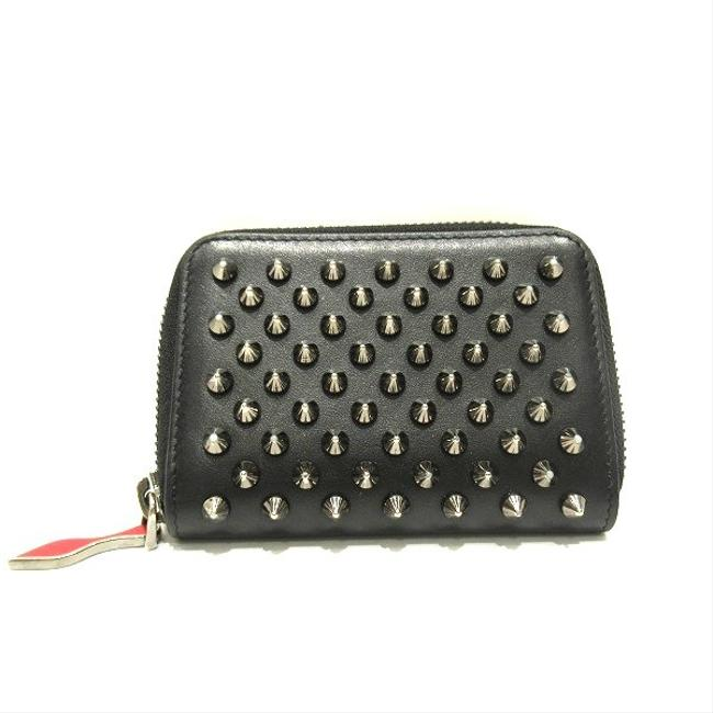 Item - Black Unisex Patent Leather Coin Purse/Coin Case Wallet