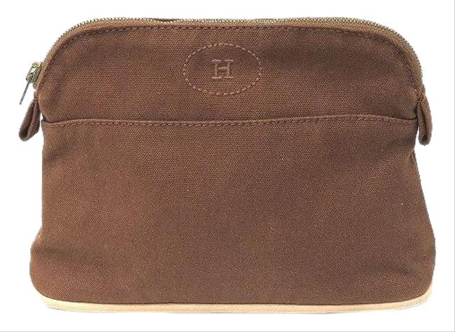 Item - Bored Pouch 20 Women's Brown Canvas Clutch