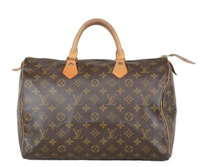 Louis Vuitton Lv Speedy Neverfull 35 Tote in Brown