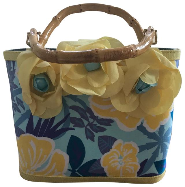 Item - Faux Bamboo Tote