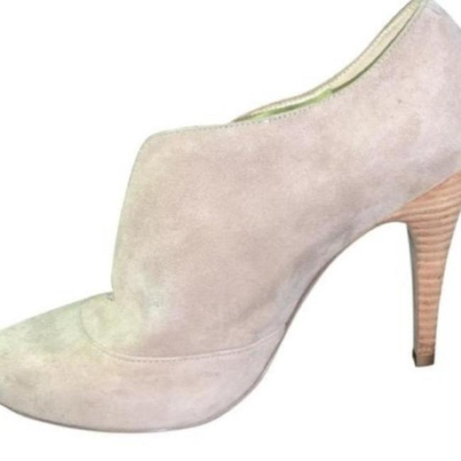 Item - Tan Taupe Heels Leather Suede Pumps Size US 6 Regular (M, B)