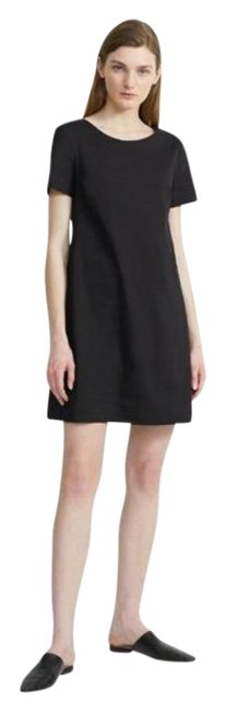 Item - Black Panel Mid-length Work/Office Dress Size 0 (XS)