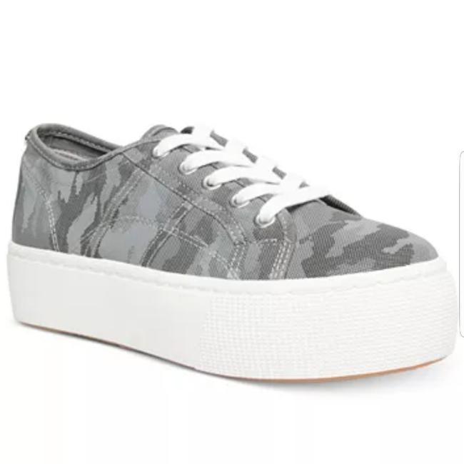 Item - Grey and White Emmi Sneakers Size US 11 Regular (M, B)