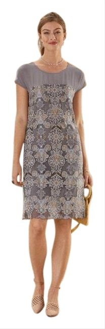 Item - Stardust Mid-length Night Out Dress Size 14 (L)
