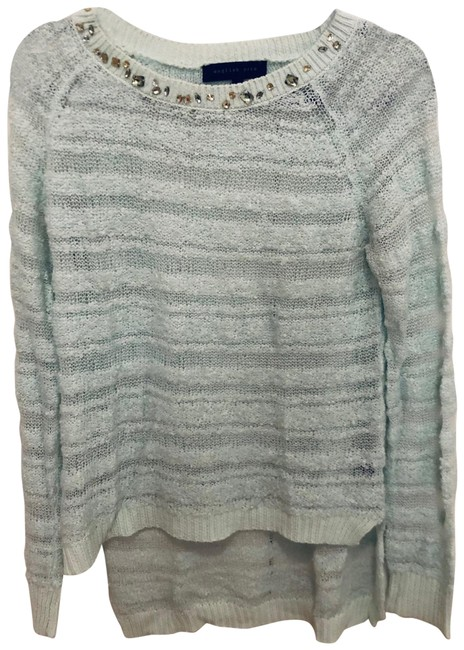 Item - Embellished Mint Green Sweater