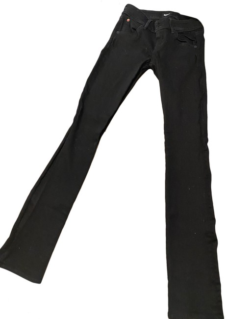 Item - Black Dark Rinse Baby Beth Boot Cut Jeans Size 2 (XS, 26)