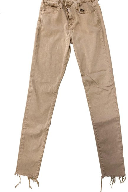 Item - Tan Light Wash The Icon Mid Rise Skinny Jeans Size 2 (XS, 26)