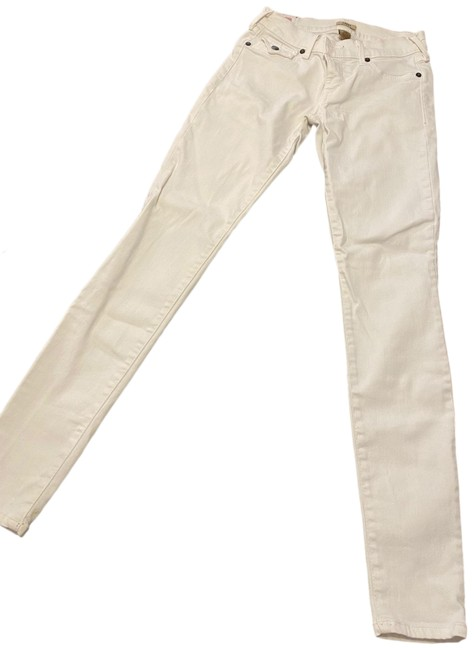 Item - White Light Wash Low Rise Super Skinny Jeans Size 2 (XS, 26)
