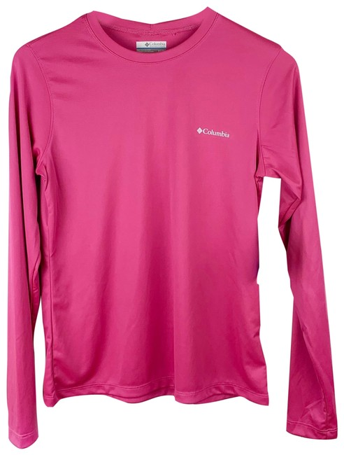 Item - Pink Rapid Creek Omni-shade Logo Shirt Activewear Top Size 2 (XS)