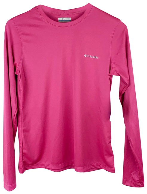 Item - Pink Rapid Creek Omni-shade Logo Shirt Activewear Top Size 8 (M)