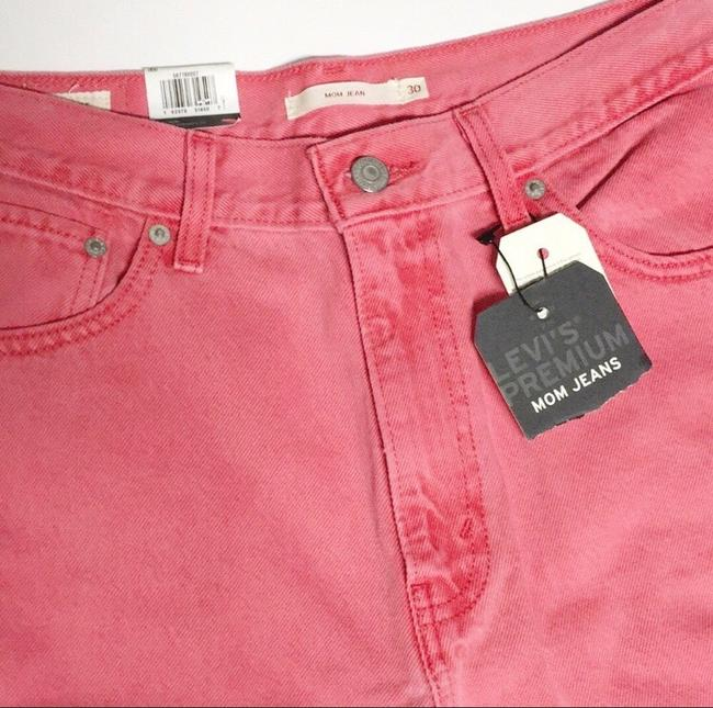 Levi's Red Medium Wash Pink Vintage Inspired High Waisted Skinny Jeans Size 8 (M, 29, 30) Levi's Red Medium Wash Pink Vintage Inspired High Waisted Skinny Jeans Size 8 (M, 29, 30) Image 6