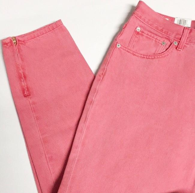 Levi's Red Medium Wash Pink Vintage Inspired High Waisted Skinny Jeans Size 8 (M, 29, 30) Levi's Red Medium Wash Pink Vintage Inspired High Waisted Skinny Jeans Size 8 (M, 29, 30) Image 8