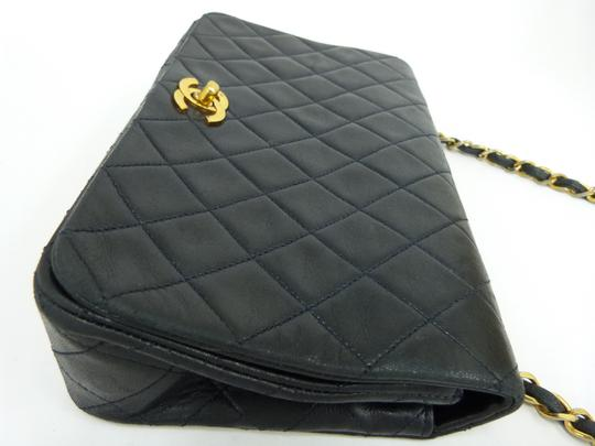 Chanel Classic Lambskin Vintage Leather Cross Body Bag