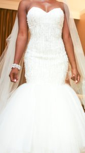 Stephen Yearick Custom Wedding Dress