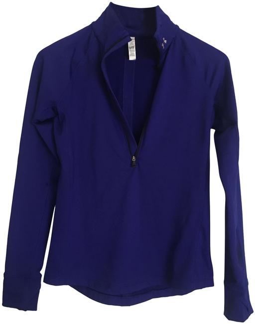 Item - Deep Purple Cold Gear Fitted Activewear Top Size 4 (S)